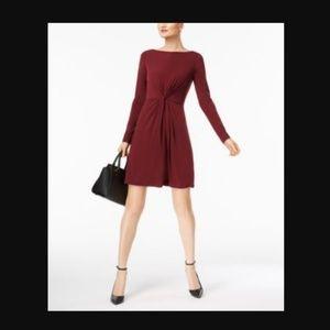 Michael Kors Twist Front Dress NWT
